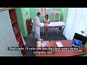 Pacienta Bruneta Venita La Doctorul Ginecolog La Un Control Este Fututa Pe Birou