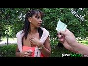 Diana Suge Pula In Parc Pentru Bani